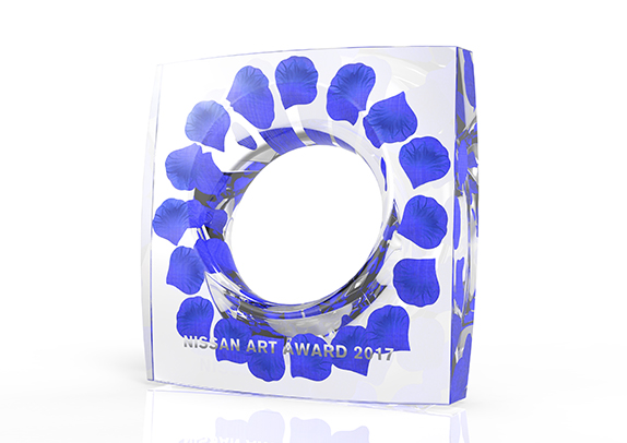 Nissan Art Award 2017 Trophy