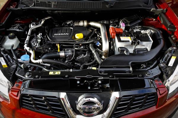 Nissan qashqai motor renault