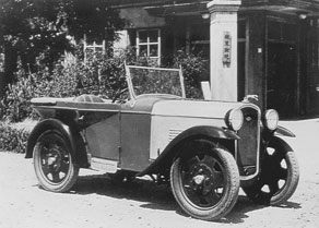 Prototype DATSON, Completed In The Summer Of 1931 (given The Type Name  DAT 91).