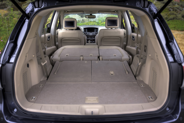 Nissan Rogue 3Rd Row >> NISSAN | BRAND & PRODUCTS | Nissan | Pathfinder